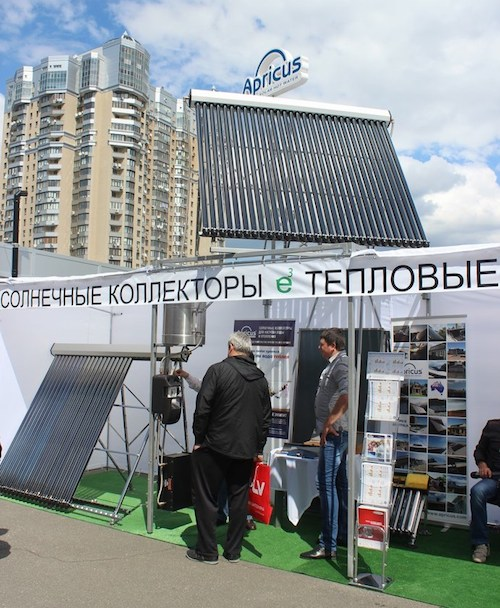Apricus begins Ukraine Solar Hot Water Market Development with Partner Neoteplo
